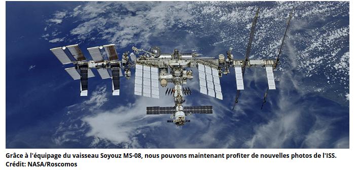 Prosopopée de la station spatiale internationale par Noa